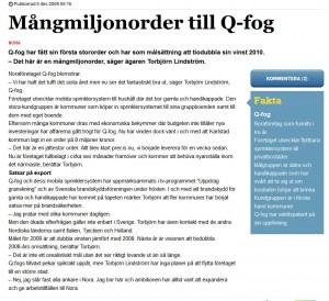 Order till Karlstad kommun