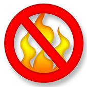Stay safe - no fires
