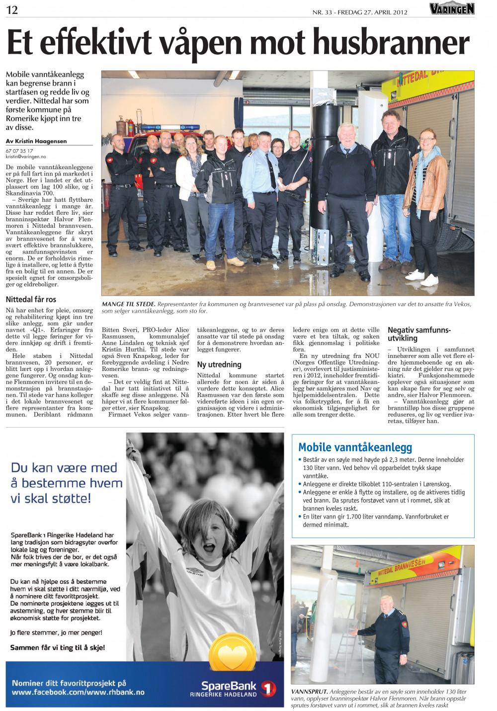 Artikel från Norska Varingen